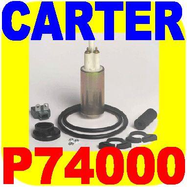 Carter Electric Fuel Pump GMC Chevy Pickup Truck Blazer
