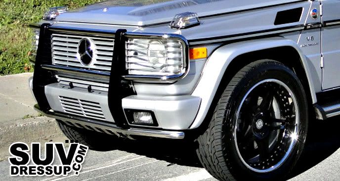 MERCEDES G WAGON GRILLE GUARD BULL BAR G55 G500 G550