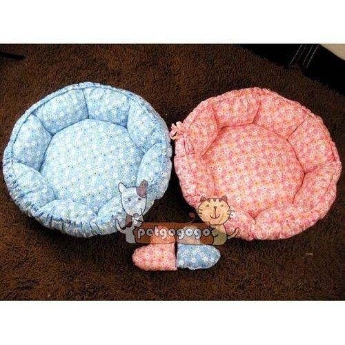 Luxury warm round unique soft Pet dog cat bed Large Round Cushion