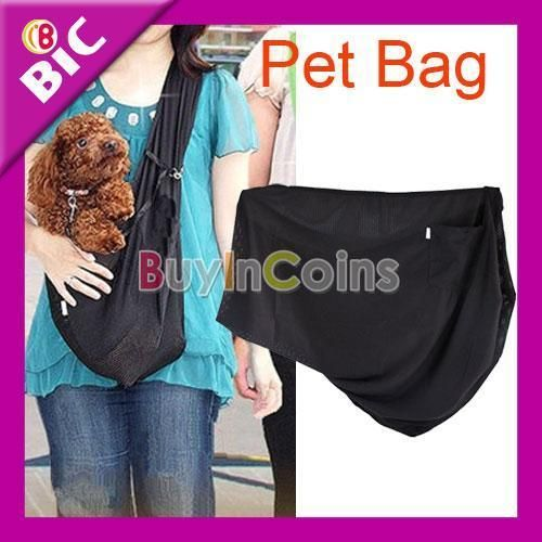 Dog Cat Strap Tote Single Shoulder Durable Carriers Bag Pouch