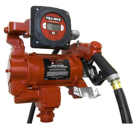 Fill Rite FR319VB Hi Flow AC Pump w/Meter 115V (33 GPM)
