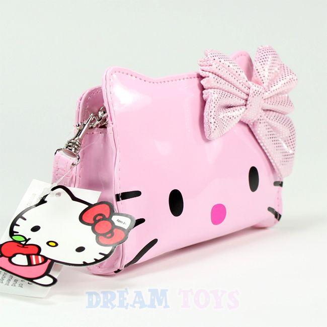 Sanrio Hello Kitty Pink Wristlet   Wallet Clutch Small Bag