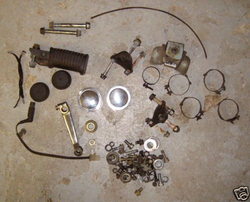 1982 Yamaha XJ650L Seca Turbo Parts Lot