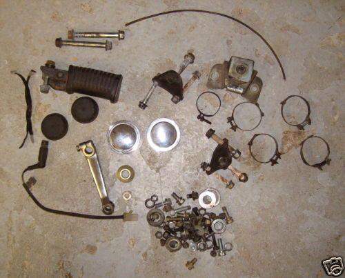 1982 Yamaha XJ650L Seca Turbo Parts Lot |